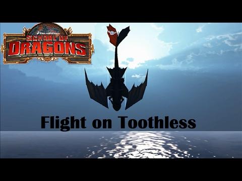 School of Dragons : Flight on Toothless!
