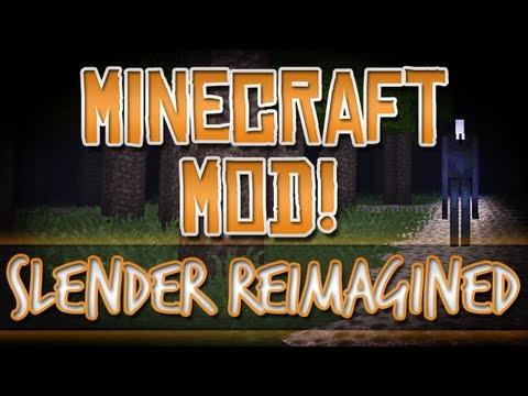 Minecraft Mod! Slender Reimagined! Play Slender in Minecraft XD