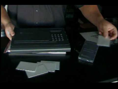 Access Control Controller Proximity Card and Reader shown