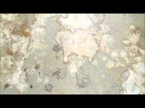F9 Concrete Rust Remover Training: The Difference Between White and Orange Battery Stains