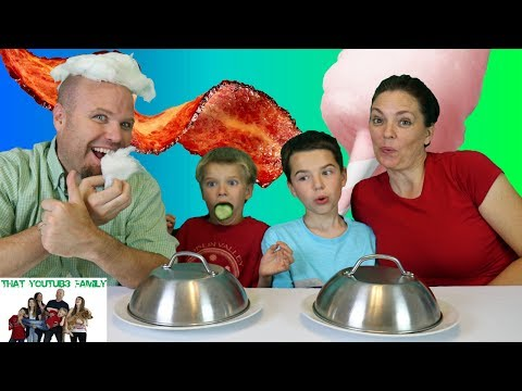 COTTON CANDY VS REAL FOOD SWITCH UP 2 / That YouTub3 Family