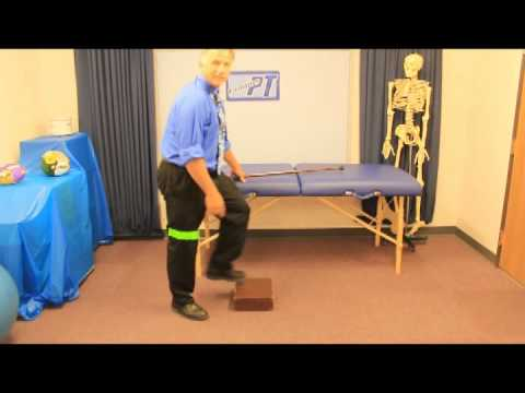 Exercises for up/down stairs after Total Knee Replacement
