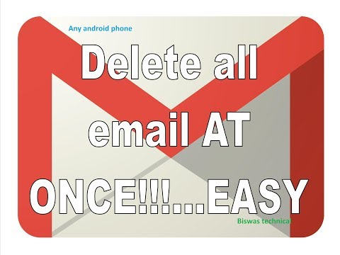 How to delete your phone old email id?