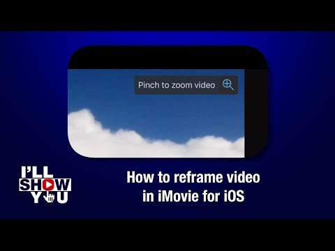 How to crop or reframe video in iMovie for iOS