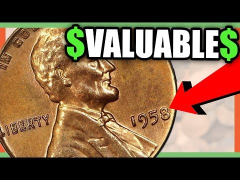 10 RARE PENNIES TO LOOK FOR IN POCKET CHANGE - PENNIES WORTH MONEY!!