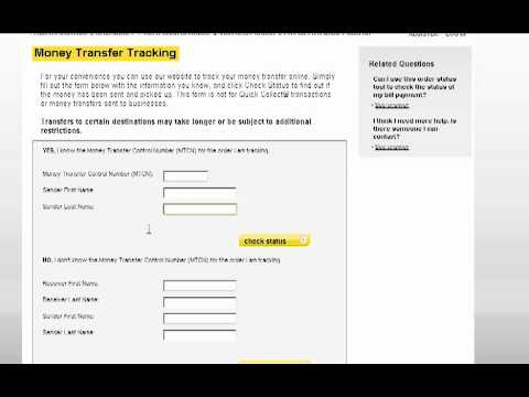 How to check Western Union payments
