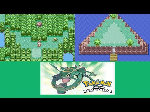 Unlock Faraway Island and Birth Island for Mew and Deoxys (non-English EU Pokémon Emerald)