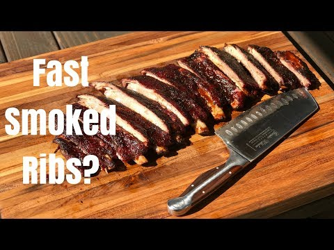 Hot and Fast St. Louis Ribs | How to smoke ribs in half the time