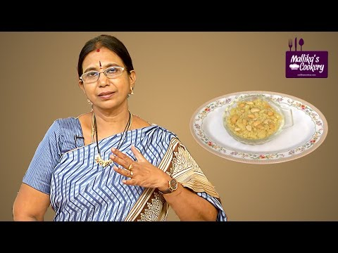 DAL PITTU SWEET : Mallika Badrinath | Paruppu Sweet Easy Recipe