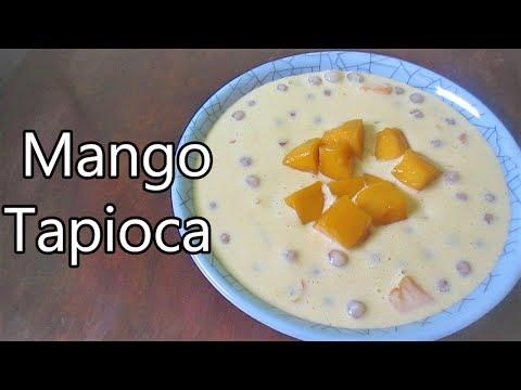 Mango Tapioca Dessert | Mango Sago Recipe