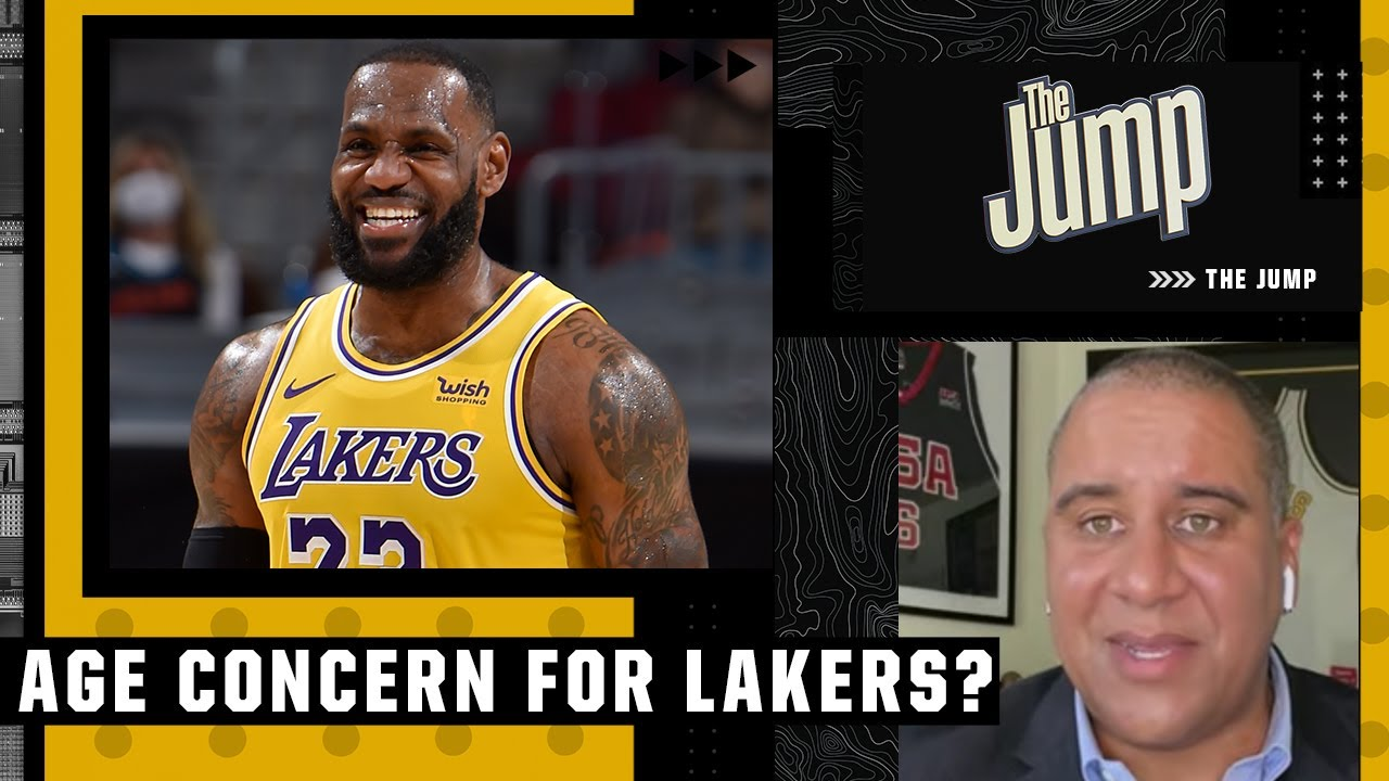 Age is nothing but a number for the Lakers - Marc J. Spears   The Jump