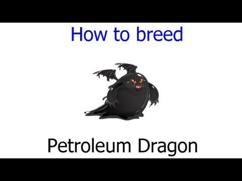 Dragon City - How to get Petroleum Dragon by Breeding