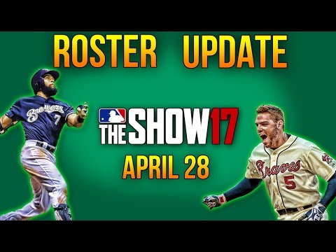MLB The Show 17 | 4.28 Roster Update