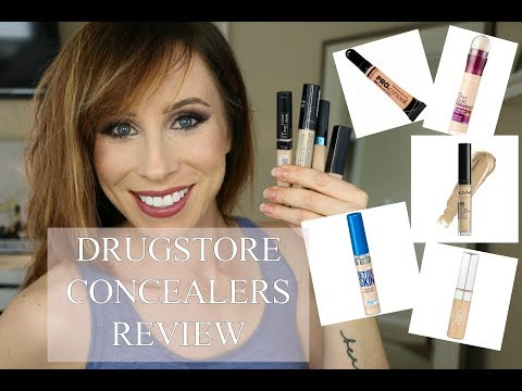 DRUGSTORE CONCEALERS REVIEW | WHICH IS BEST?