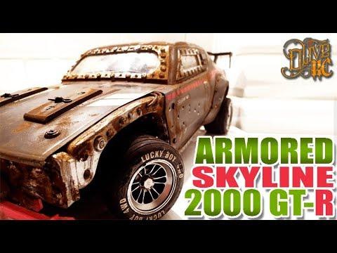 RC DRIFT SKYLINE 2000 GT-R ARMORED [PART 2/2]