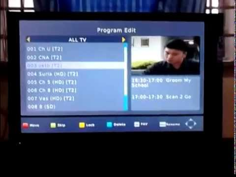 Digital TV Singapore DVB-T2 (testing at the end 2013)