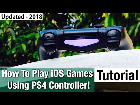 PS4 Controller On iPhone: How to Connect! - Even Connect PS3 Controoler With iPad! (2018)
