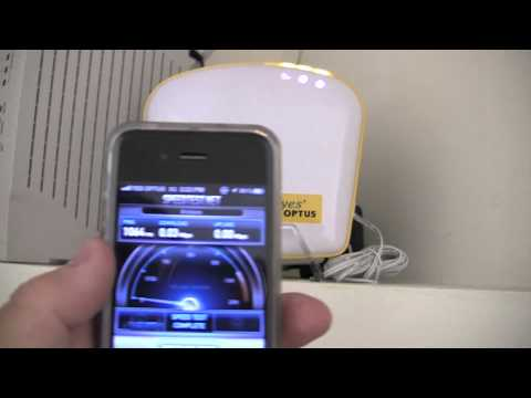 Optus 3G Home Zone - Test and Review