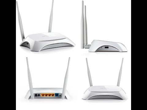 TP-LINK 3420 3G/4G wi-fi Router
