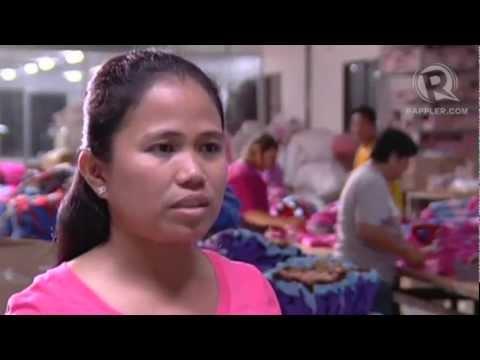 Filipina businesswoman in Cambodia