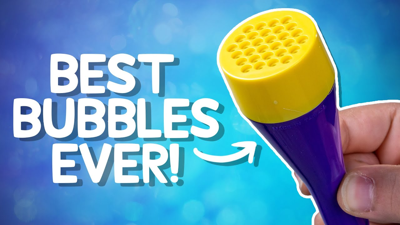 Makes So Many Bubbles, You Won't Be Able to See • 11 Classic Toys Made More Awesome