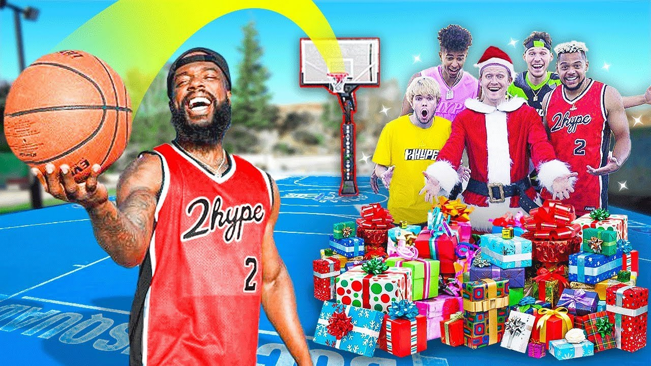 Make the 0.1% Trickshot... Win the $ Christmas Present!