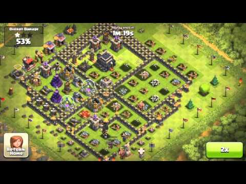 Balloon & Minion Attack 03 _ Clash of clans