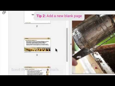 Quickly Add New PDF Pages
