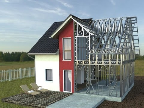 How to build a steel house - www.rotarex.ro