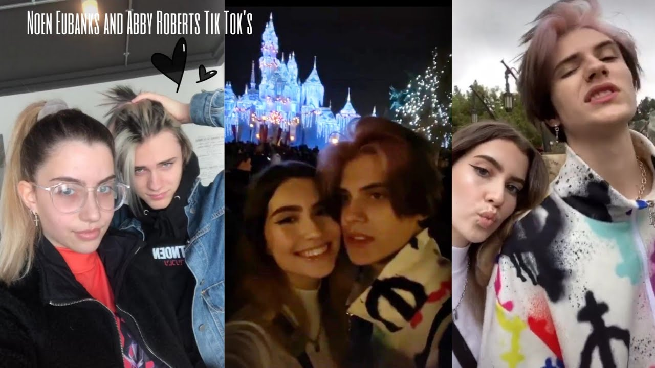 Noen Eubanks and Abby Roberts Tik Tok's | new tik tok couple or just friends?