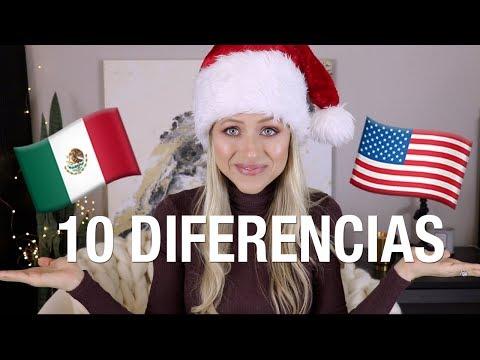10 diferencias: NAVIDAD en México vs. USA   Superholly