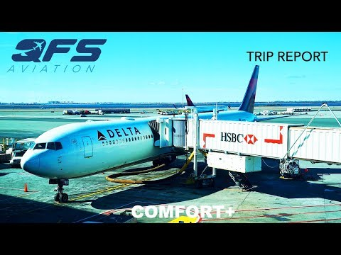 TRIP REPORT   Delta Airlines - 767 400 - New York (JFK) to Seattle (SEA)   Economy Plus