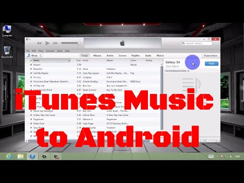 How to Transfer Music from iTunes to Android Samsung GALAXY S4/S3/Note ?