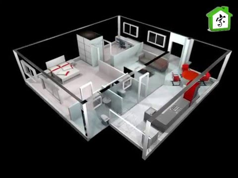 HDB, 102 sqm, 4A model, 3d floor plan, modificated
