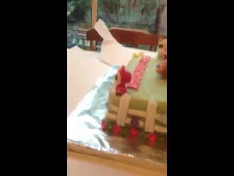Fleurs Littlest Pet Shop Birthday Cake