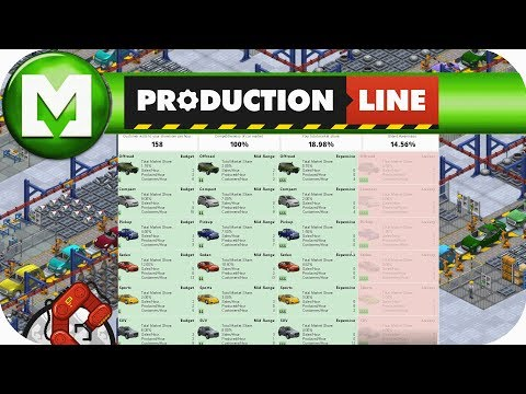 Production Line : Increasing our efficiency & new car lines