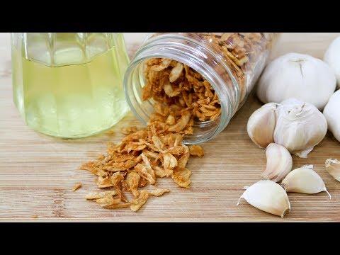 Crispy Garlic and Garlic Oil - Episode 169