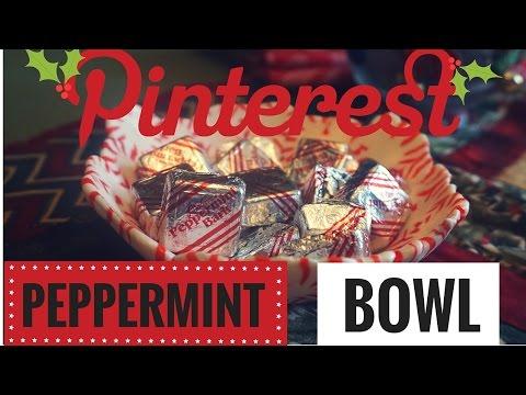Peppermint Bowl Pinterest DIY