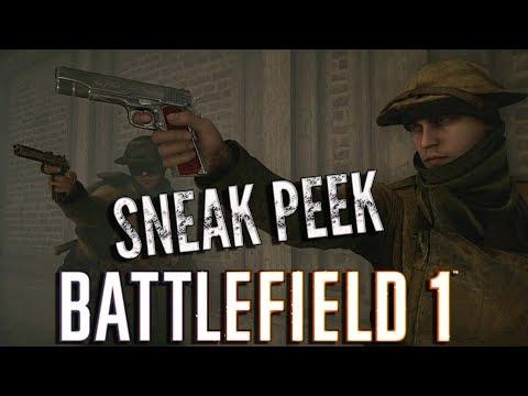 Battlefield 1 BROTHERS IN ARMS 3 EXCLUSIVE SNEAK PEEK! ( Interrogation Scene )