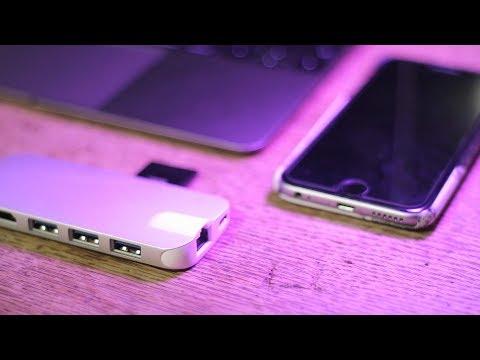 Apple MacBook USB C adapter | QacQoc adapter review | TechGenieT3G