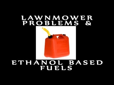 Lawnmower Problems & Ethanol Based Fuels & HOW TO FIX IT!