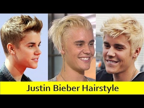 Justin Bieber Hairstyle Evolution 2009-2017 | Haircut Names