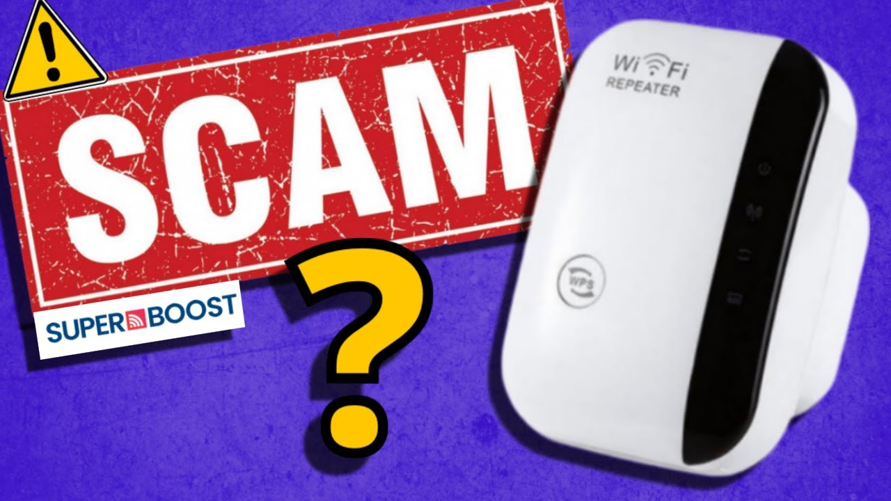 Superboost WiFi Booster:  Faster WiFi Internet or a scam?