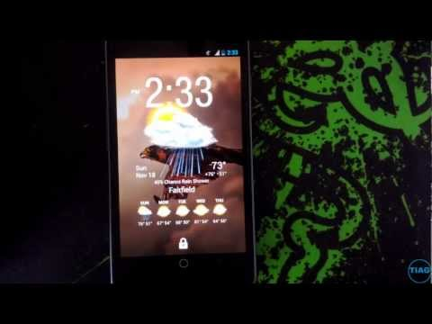 Android 4.2  lock screen third party widgets review