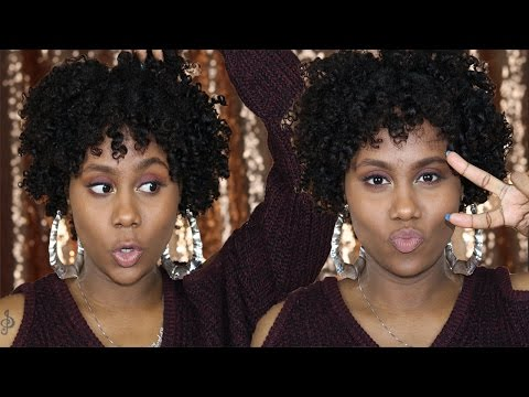 Two Strand Twist Out w/ Perm Rods | Super Defined | Shardel Haden