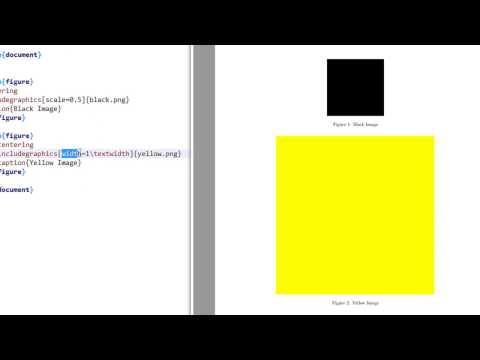 Week 3   Latex Tutorial   Lecture 001 Insert Images Width Scaling Options