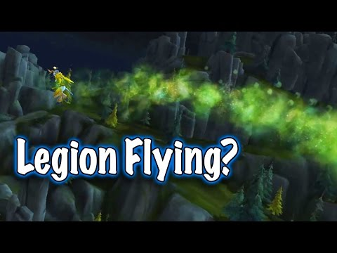 How to Fly in the Broken Isles: Toys & Tricks - Emerald Winds Toy Guide