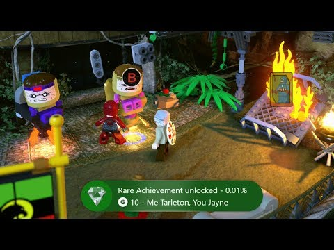 LEGO Marvel Super Heroes 2 How to get Me Tarleton You Jayne Achievement or Trophy