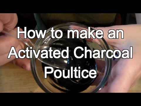 How to Make Activated Charcoal Drawing Poultice