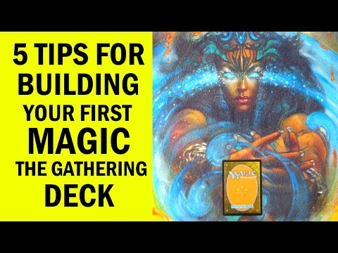 How to Build Your First Magic: The Gathering (MTG) Deck For Beginners / Newbies - Deck Building